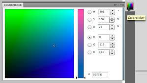 john nack on adobe photoshop gets a new color picker panel