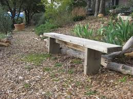 Plans For Making A Wooden Garden Bench by How To Build Simple Garden Benches For Free Flea Market Gardening
