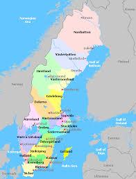 map of sweden sweden