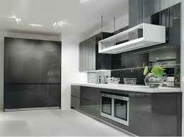 the simple design of plain kitchen for your home