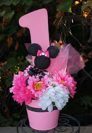 minnie mouse 1st centerpieces minnie mouse birthday center piece