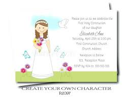 communion invitations for girl holy communion invitations also modern communion invitations for