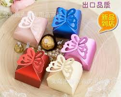 baby shower favor boxes pearl color butterfly candy box baby shower favor box wedding box