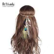 bohemian hair accessories artilady bohemian headbands for women handmade hippie headdress