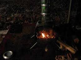 Diy Tent Wood Stove Proto 1 Youtube - stove with flue youtube