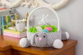 bunny easter basket bunny easter basket k designs