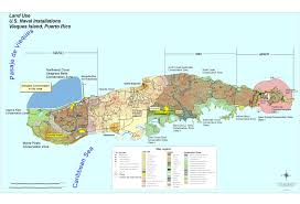 map us navy u s naval installations map vieques island