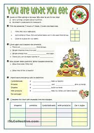 you are what you eat worksheet esl worksheet of the day by
