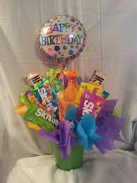 balloon and candy bouquets best 25 candy bouquet birthday ideas on candy bouquet