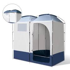 Outdoor Shower And Toilet Weisshorn Double Camping Shower Toilet Tent Outdoor Portable Change
