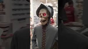 gemmy animated life size skeleton couple youtube
