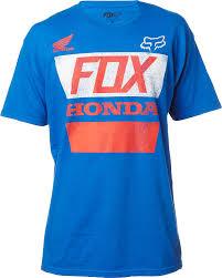 fox motocross shirt fox racing honda distressed basic t shirt mens ebay