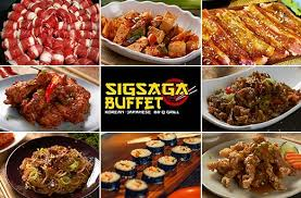 buffet ls set of 2 20 off lunch or dinner buffet promo at sigsaga yakiniku buffet