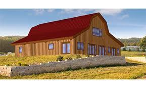 Gambrel Style House Pre Designed Wood Barn Home Horse Barns U0026 Gambrel Kits Sand
