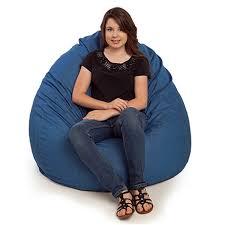 durable denim bean bag chairs thebeanbagchairoutlet com