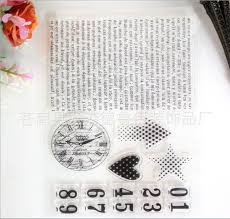 high quality photo albums 1 single silicon transparent st seals of high quality diy
