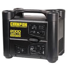 2000 Watt Inverter Generator With Usb Champion Generators 73540i