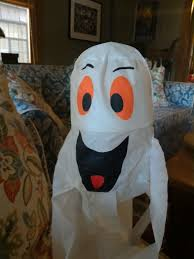 wanted shaking ghost decoration halloween