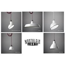 black and white ceiling light shade nostalgia lights enamel pendant shade set white nook london