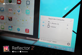 reflector 2 with android mirroring and features available