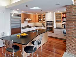 kitchen contemporary small remodeling ideas photos with stunning small kitchen renovation ideas budget wood island breakfast table stainless stell appliance packages