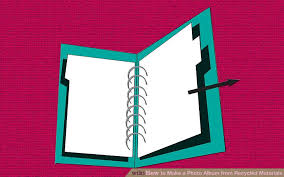 make a photo album 3 ways to make a photo album from recycled materials wikihow