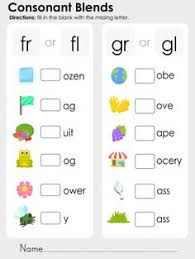 beginning blends 2 spelling worksheets first grade phonics and