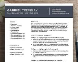 reference resume minimalist backgrounds for kids functional resume etsy