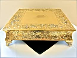 18 square cake stands u0026 accessories hahn event rental
