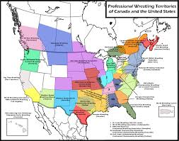 Hollywood Usa Map by List Of National Wrestling Alliance Territories Wikipedia