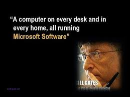 A Computer On Every Desk And In Every Home A Computer On Every Desk And In Every Home