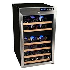Wine Cabinets Melbourne Amazon Com Edgestar Cwf340dz 34 Bottle Wine Cooler With