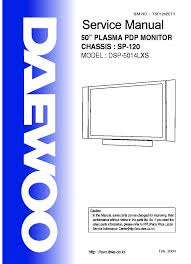 daewoo cp330 chassis tv d service manual download schematics
