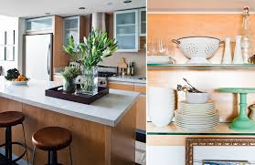 Kitchen Countertop Shelf How To Style Kitchen Countertops The Everygirl