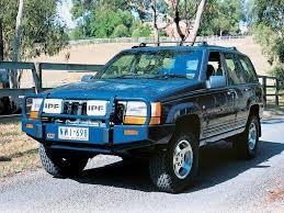 jeep grand cherokee bull bar arb front winch bar for 1993 1998 jeep grand cherokee zj at ok4wd