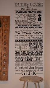 in this house we do geek quote wall decal vinyl wall lettering