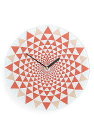 modcloth home decor illusion of time clock mod retro vintage wall decor modcloth