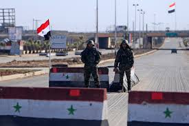 Rebel Syrian Flag Armed Forces In The 7th Year Of War