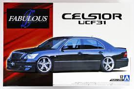 toyota celsior for sale aoshima 52389 fabulous ucf31 celsior u0027 03 toyota 1 24 scale kit