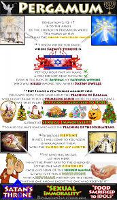pergamum sexual immorality satan u0027s throne food sacrificed to