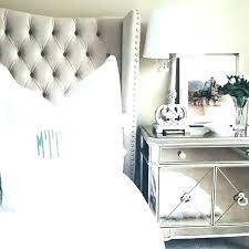 bedroom nightstand ideas mirrored night stand bedroom ideas with mirrored furniture bedroom
