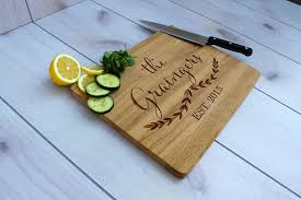 wedding gifts engraved crafted personalized cutting board engraved cutting board