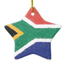 Large Christmas Decorations South Africa by South Africa Flag Christmas Tree Decorations U0026 Ornaments Zazzle