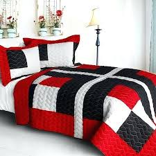 Red Bedroom Comforter Set Modern Bedding Quilts U2013 Boltonphoenixtheatre Com