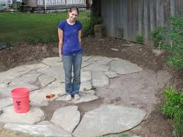 Stone Patio Images by Sand Set Flagstone Beautiful Patio Sets And How To Lay Stone Patio