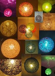 Hanging Led Lights by Balloon Ball String Fabric Stiffener Battery Operated Led