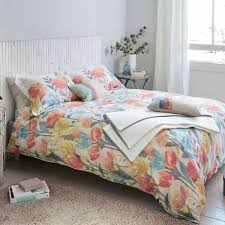 luxury floral bedding pink blue purple yellow u0026 red floral