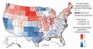 map usa iowa flood threats changing across us iowa now