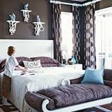 paint color portfolio purple brown bedrooms apartment therapy