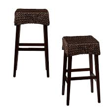 Target High Chair Furniture Brown Wood Bar Stools Target With Black Leather Seat